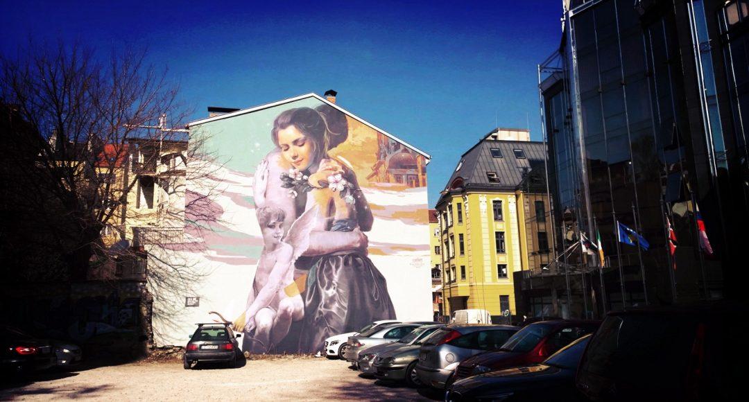 Sofa murals by Nasino